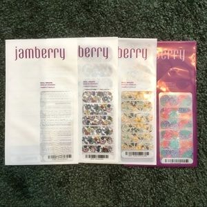 Jamberry Nail Wrap Bundle Florals